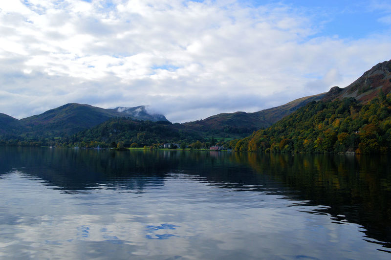 Beauty In Nature Calm Cloud Cloud - Sky Clouds And Sky Cumbria Day Idyllic Lake Lake District Mountain Mountain Range Mountains And Sky Nature Refelections Reflection Scenics Sky Tranquil Scene Tranquility Ullswater Water English Countryside Natural Beauty Landscape