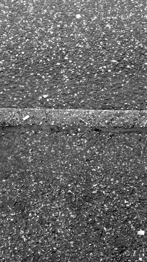 Rain Asphalt Blackandwhite Minimalism