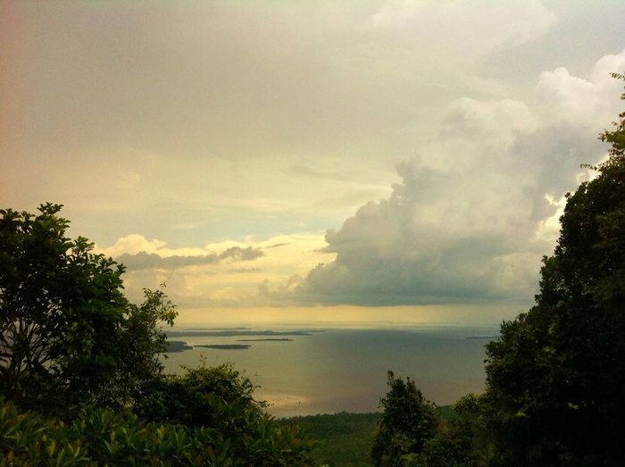 From the top of Bintan Island, every where just SEA.. Love this place