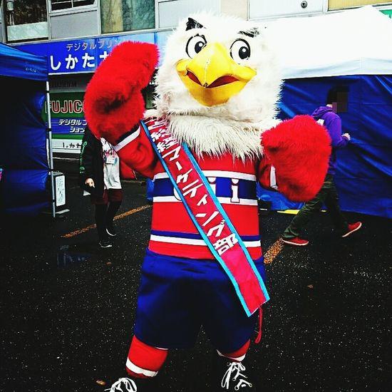 アイスホッケーチーム王子イーグルスのマスコットキャラしゅうとくん(・ω・)。 Hokkaido,Japan Mascot Characters Of JAPAN Mascot Characters Of Sports Teams Icehockey