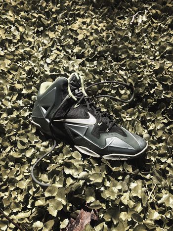 Just a quick iPhone snap of the Lebron 11 high. Nike Lebron James Nikebasketball