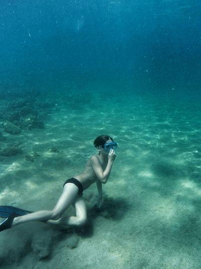 Freediving MySON♥ Proud Mommy Summer In Greece Underwaterworld