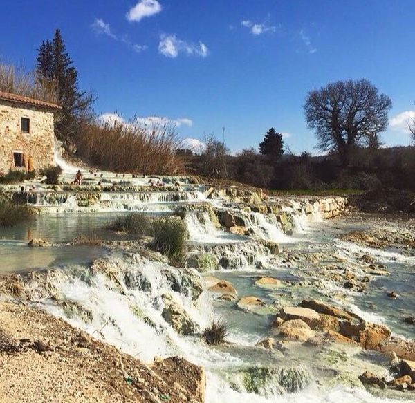 _Inner peace 😌 Love Saturnia Saturniaterme Toscana Italy Italia Landscape Nature Travel Cliffs Mountains Morning Colors Beautiful Holiday Imstagood Instamoment Instadaily Imstagram Tweegram Picstitch  Picoftheday