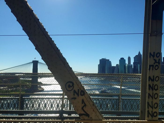 Brooklyn Bridge / New York Manhattan Skyline No No No 3