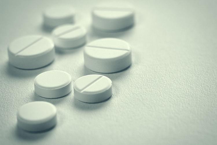 Pills on a