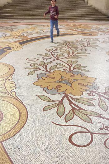 Palais De La Découverte Tiles Childhood