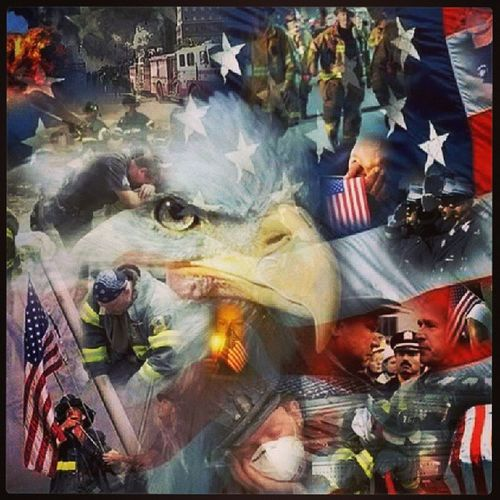 United We Stand!!! 91101 September11th Iloveny Americathebeautiful  freedom liberty wewillneverforget fdny nypd emt army navy marines airforce coastguard nationalguard USMilitary