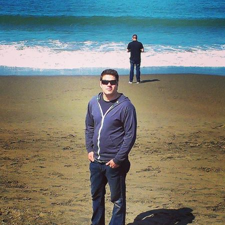 #tbt. Picture of my husband at #bakerbeach from earlier this year. I love him so much. #throwbackthursday #throwback #sanfrancisco #bestcoast CA Cali Throwback TBT  Sanfrancisco Throwbackthursday  Bestcoast Ca_skies Bakerbeach Californiagirl Angelgetaways Californiastyle