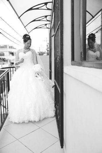 Beautiful Weddingday  Bride Wife Love ♥ Trinidad And Tobago Helloworld EyeEm Gallery Eye4black&white  Wedding Photography Weddings Around The World Wedding Day Weddingdress Reflection Crown