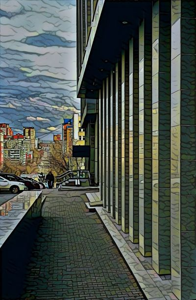Prisma Art Architectural Streetphotography Colors Architecture Architectural Detail Building Exterior Prismacolor Prisma Photo Prisma