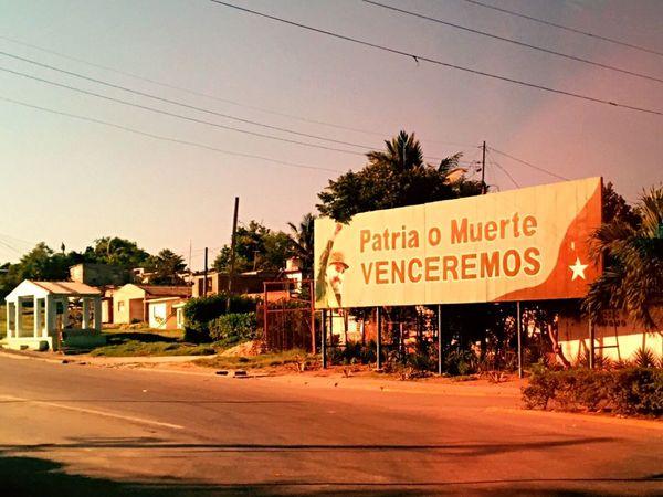 Patria o Muerte en Manzanillo