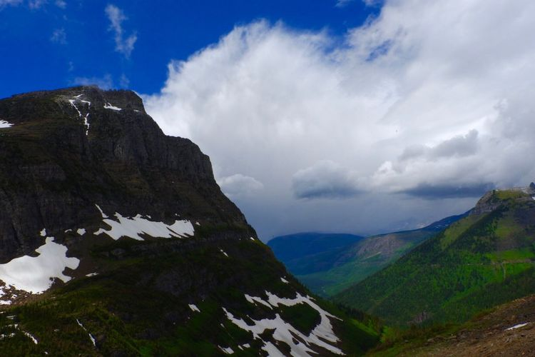 Another magnificent view from Glacier National Par in Montana. Nature Photography Nature Glacier Glacier National Park Montana Montanamoment National Park Sky Mountain Beauty In Nature Cloud - Sky Scenics - Nature Tranquility Tranquil Scene Mountain Range Environment Non-urban Scene Nature Landscape Outdoors Land Idyllic The Great Outdoors - 2018 EyeEm Awards