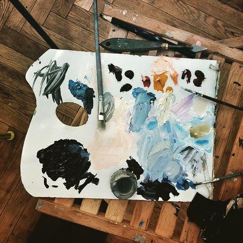 Картину маслом не испортить🎨 Udividali Udivi_dali танцующиепингвины Oilpaints масляныекраски Oilpainting картинамаслом