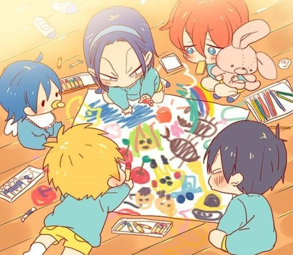 Kawaii Anime Children Cute Yawamushi Pedal