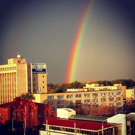 Красотища Астрахань небо астраханскоенебо радуга осень безфильтра YouAst Astrakhan Helloastrakhan My_astrakhan прогулкапокрыше Vscocam Vscobest Rainbow