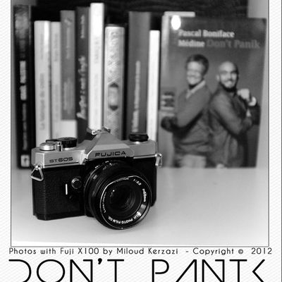 DontPanik  Book Brother @medine_officiel By sous France French fuji fujix100