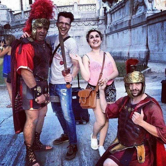 Con i gladiatori
