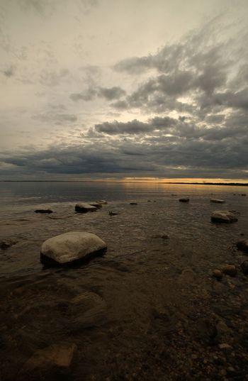 Lake Diefenbaker Landscape_captures Beautifulcanada Exploresask Lake Diefenbaker Water Low Tide Sea Sunset Beach Sand Astronomy Wave Sky Horizon Over Water Seascape Coastline Calm Coastal Feature