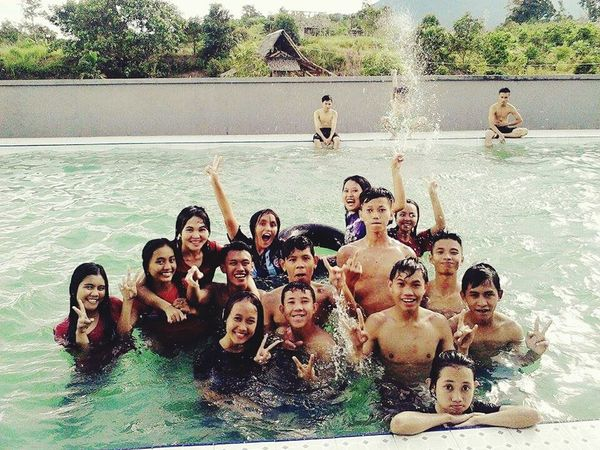 """Swimming pool """"magmagan"""" with my friend's Relaxing Taking Photos Friends Swimming Photos Photografer Photoshop Photografi"""