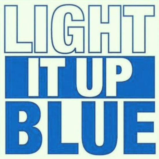 Lightitupblue World Autism Awareness Day April 2nd 2013