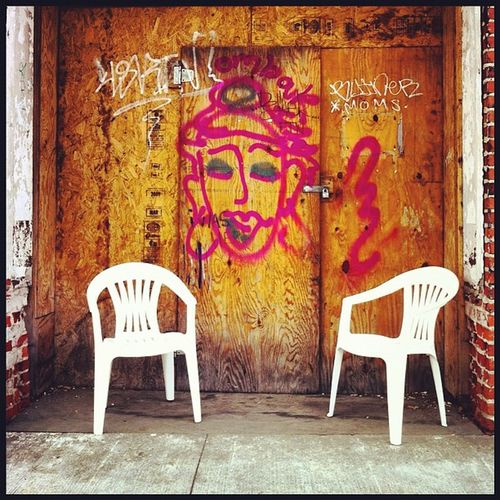 Come in; have a #seat. #graffiti #chair #welcome #igersoftheday #boone Graffiti Chair Welcome Seat Igersoftheday Boone