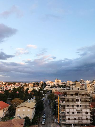 Building Exterior Architecture Built Structure City Sky Cityscape Residential District Residential Building Crowded House High Angle View Cloud - Sky Outdoors Tree Day Nature מייסטריט Israel