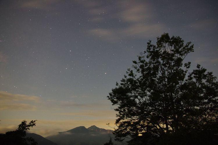 最近、車中泊が楽しすぎ! Night View Nightphotography Starry Sky Nature_collection 磐梯山 EyeEm Nature Lover 磐梯吾妻レイクラインより…