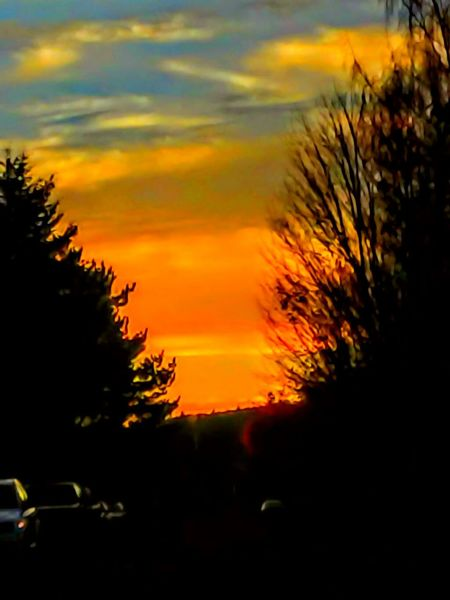 This is how we Sunset In The YHC!!! (Yamhill county) Sunset The Week On Eyem Enjoy The New Normal Transportation Mode Of Transport No People Cloud - Sky Car Roof Land Vehicle 2016 EyeEm Awards Outdoors Nature EyeEm Master Class The Week On EyeEem Pursuit Of Happiness Focus On Foreground Streamzoofamily Come Out And Play The Drive Style Of Today  Beauty In Nature Silhouette Scenics Low Angle View Multi Colored