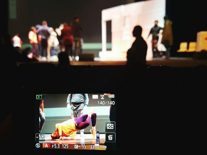 Close Up Technology Shhh, estamos de ensayo. En Ahora el Musical. Arts Culture And Entertainment Eyemphotography EyeEm Best Edits EyeEm Best Shots Eyeemphotography EyeEmBestPics EyeEm AMPt_community Musical