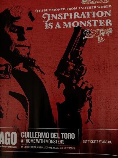 Guillermo Del Toro Text Western Script Art Is Everywhere Art Gallery Of Ontario