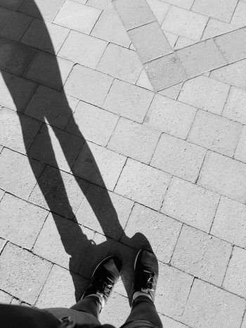 """A day for yourself? """"Why not"""" I would say.. Shadow Human Leg Human Body Part Lifestyles Outdoors Real People Leisure Activity New Place Standing Long Legs"""