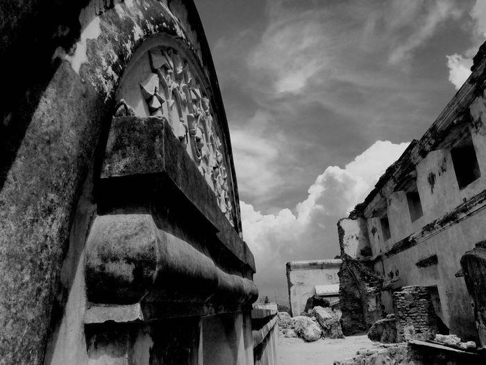 Black And White Friday Architecture Taman Sari - Yogyakarta