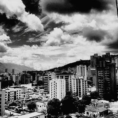 Caracas el Paraiso Caracas City Black & White