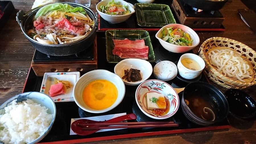 すき焼き御膳 Sukiyaki Japan Style