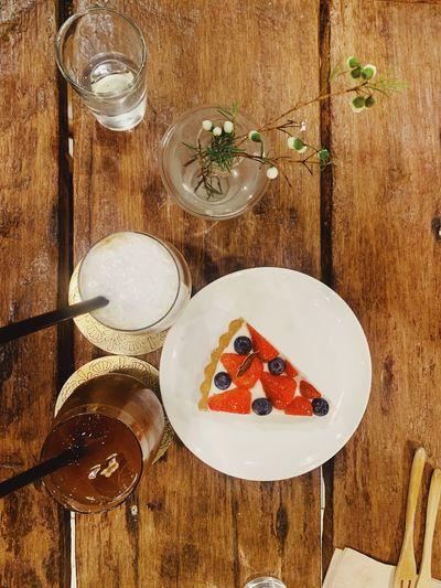 Cake Table Food