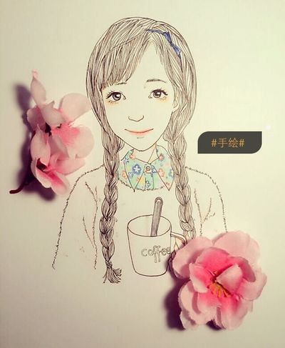 Hand Drawing Lovly Smile Make It Myself Love It