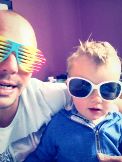 South Violet By Motorola Enjoying Life Fatherandson My Funky Glasses Release The Kid Within Hi! Hanging Out Feelin The Love My Children My Life