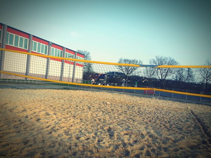 Volleyball Sand Generationenpark Park Playground Outside Outside Photography Germany Sport Sky Summer Sports