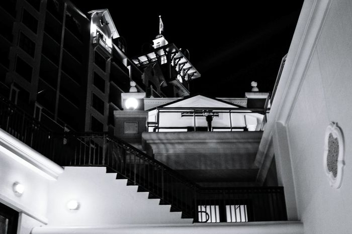 Light And Shadow Contrast Black And White Photography Chiaroscuro  Nightlife Fine_art Boardwalk Nightscape Chiaroscuro Gallery Architecture_bw modern mountain