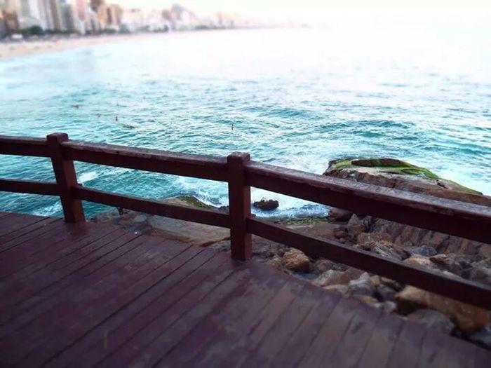 Blue Ocean Vista Do Mirante Nature
