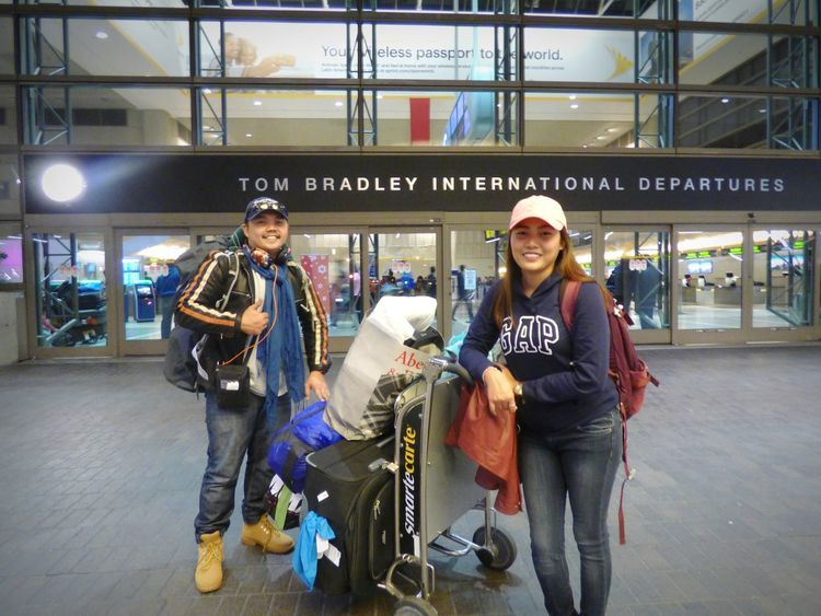 That adventure we had on our way home... 😂😂😂 LAX 🇺🇸 To PH Bigbro HappyBirthday