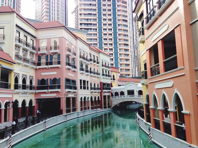 Vinece Grand Canal Mall Taguig Philippines