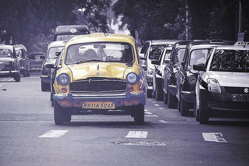 Kolkata's Yellow Cabs The yellow cabs are all non air conditioned and can be identified by its yellow livery and a glow light on top referring as taxi. Kolkatadiaries Kolkata Yellow Selectivecolor Picoftheday Instadaily Amazing Indiapictures Storiesofindia India Bengali Streets Insta_mazing Igers