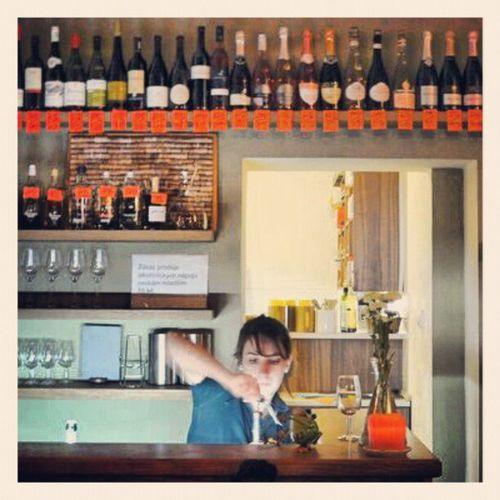 From the Winebar Vinograf in Prague