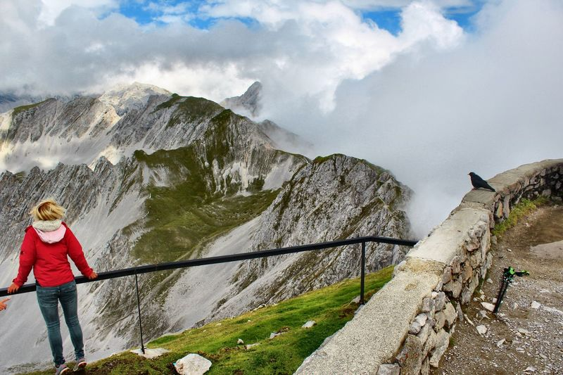Mountain Cloud - Sky Leisure Activity Beauty In Nature Scenics - Nature Real People Go Higher Go Higher