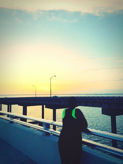 That's Me Amazing View Bridge View Beautiful View Taking Photos Sunrise Good Morning Simply Me Enjoy Life Ocean View