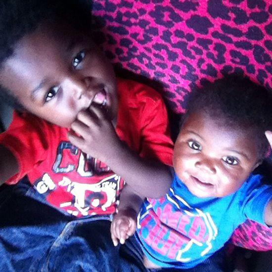 I Have Handsome Mans❗️ Mykids Myweakness Mylove MyBABiES