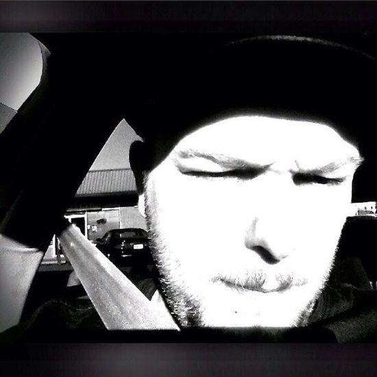 Black n white Bnw sun Selfie