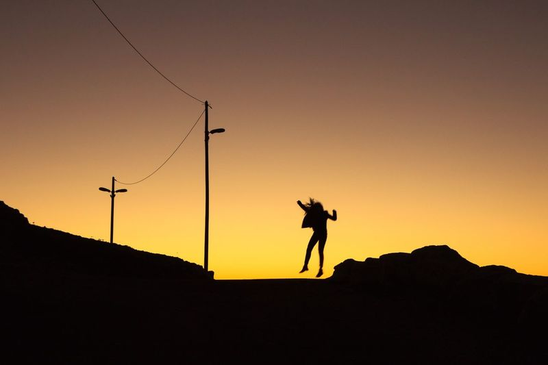 """"""" Jump behind the reality """" Light And Shadow Open Edit Silhouette Getting Inspired Eye4photography  My Best Photo 2015 EyeEm Best Shots Shootermag Cityscape Enjoying Life Sunset Landscape Photography In Motion My Favorite Photo The Great Outdoors - 2016 EyeEm Awards Color Palette"""