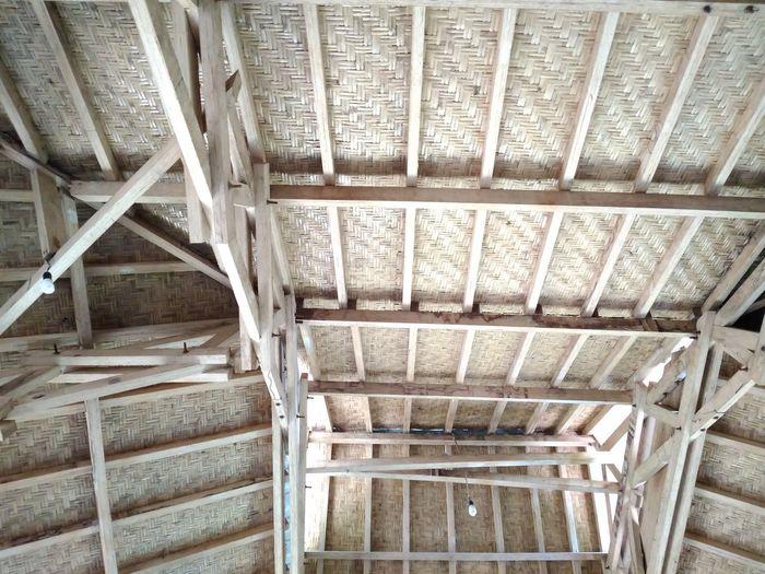 Bamboo Architecture Indoors  No People NTB Rumahalir DELTA API Lombok Island